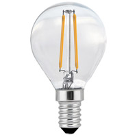Elitco Lighting G14LED102V1-6PK Ara LED G14 2.5 watt 120V 2700K LED Light Bulb Pack of 6