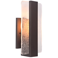 Elitco Lighting OD2101 OD21 Series LED 15 inch Matte Black Outdoor Wall Lamp