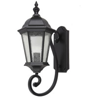 Elitco Lighting OD2600 OD26 Series 1 Light 20 inch Black Outdoor Wall Lamp