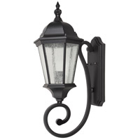 Elitco Lighting OD2601 OD26 Series 1 Light 25 inch Black Outdoor Wall Lamp