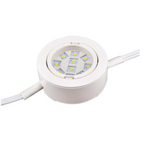 Elitco Lighting PUCK3W3K-3-WH Puck 120V LED 3 inch White Puck Light, Pack of 3
