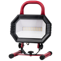 Elitco Lighting PWL5000R PWL Series 11 inch 15 watt Red Portable Work Light