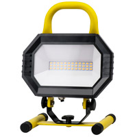 Elitco Lighting PWL5001Y PWL Series 11 inch 15 watt Yellow Portable Work Light
