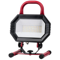 Elitco Lighting PWL5002R PWL Series 11 inch 30 watt Red Portable Work Light