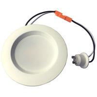 Elitco Lighting R30830KRF-6PK R308 Series LED Matte White Retrofit Recessed Light, Pack of 6