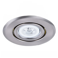 Elitco Lighting R4-489BN-12PK Signature PAR20/PAR20LED Brushed Nickel Recessed Trim 4in Pack of 12