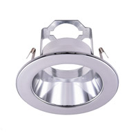 Elitco Lighting R4-495CH-12PK Signature PAR20/BR20 Chrome Recessed Trim, 4in, Pack of 12