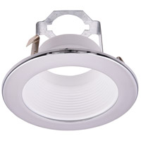 Elitco Lighting R4-495CW-12PK Signature PAR20/BR20 Chrome and Matte White Recessed Trim, 4in, Pack of 12