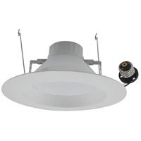 Elitco Lighting R61227KRF-4PK R612 Series LED Matte White Retrofit Recessed Light in 2700K, 4, Pack of 4