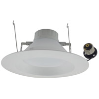 Elitco Lighting R61240KRF-4PK R612 Series LED Matte White Retrofit Recessed Light, Pack of 4