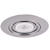 Elitco Lighting RE317CH-12PK Signature PAR30/R30/BR30/PAR30LED Chrome Recessed Trim 6in Pack of 12