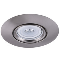 Elitco Lighting RE517BN-12PK Signature PAR30/R30/PAR30LED Brushed Nickel Recessed Trim, 5in, Pack of 12