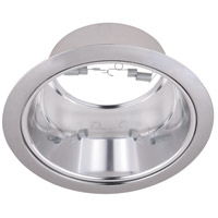 Elitco Lighting RES30CC-12PK Signature PAR30/R30/PAR30LED Chrome Recessed Trim, 6in, Pack of 12