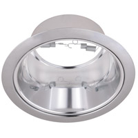 Elitco Lighting RES40CC-12PK Signature PAR38/R40/PAR38LED Chrome Recessed Trim 6in Pack of 12