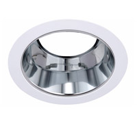 Elitco Lighting RES530BW-12PK Signature PAR30/R30/PAR30LED Matte White and Brushed Nickel Recessed Trim 5in Pack of 12