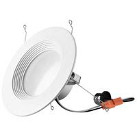 Elitco Lighting RN61527RF-4PK RN615 Series LED Matte White Retrofit Recessed Light, Pack of 4