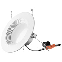 Elitco Lighting RN61530RF-4PK Rn615 Series LED Matte White Retrofit Recessed Light Pack of 4