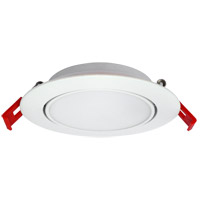 Elitco Lighting SMG40950K-4PK Signature Integrated LED White Recessed Slim Light, Pack of 4