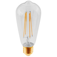 Elitco Lighting ST18LED101-6PK ST18LED Series Filament LED ST18 E26 4 watt 120V 2200K Nostalgic Light Bulb, Pack of 6