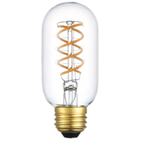 Nostalgic LED T14 San'an LED E26 6 watt 120V 3000K LED Light Bulb, Pack of 6