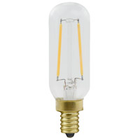 Elitco Lighting T8LED101-6PK T8led Series Filament LED T8 E12 2.5 watt 120V 2200K Nostalgic Light Bulb Pack of 6