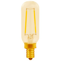 Elitco Lighting T8LED301-6PK T8led Series Filament LED T8 E12 2.5 watt 120V 2200K Nostalgic Light Bulb Pack of 6