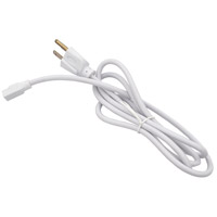 Elitco Lighting UCLPC5WH Ucl Series 120V 59 inch White Undercabinet AC Power Cord