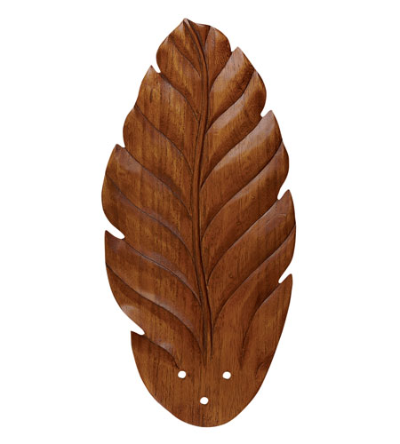 Emerson Fans Hand Carved Leaf Fan Blades in Dark Oak (Set of 5) B48DO photo