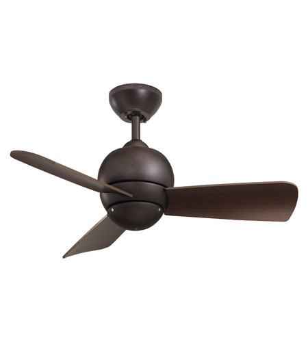 Emerson CF130ORB Tilo 30 inch Oil Rubbed Bronze with Dark Cherry Blades Indoor-Outdoor Ceiling Fan photo