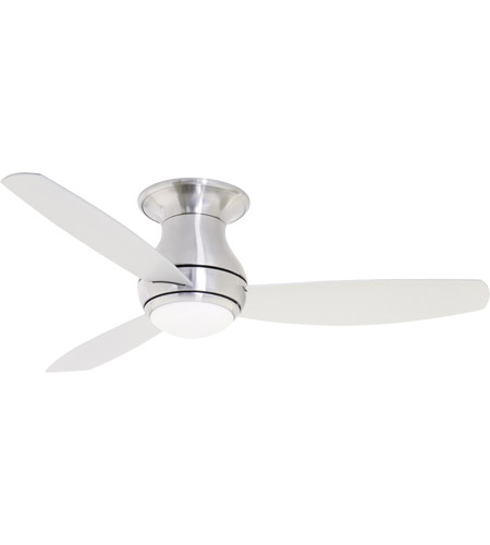 Emerson CF153LBS Curva Sky 52 inch Brushed Steel Indoor Ceiling Fan ...