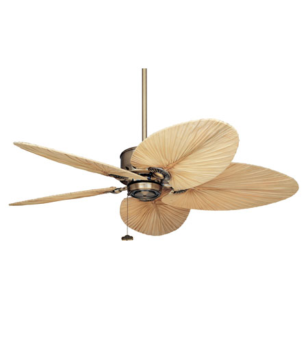 Emerson Maui Bay Outdoor Ceiling Fan in Antique Brass CF2000AB photo