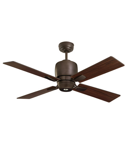 Emerson Fans Veloce 1 Light Ceiling Fan in Oil Rubbed Bronze with Oil Rubbed Bronze Blades CF230ORB photo