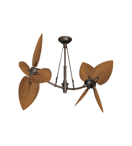 Emerson St. Croix Ceiling Fan in Oil Rubbed Bronze w/ Highlights CF3300ORH photo