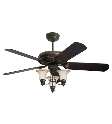 Emerson Crown Ceiling Fan in Golden Espresso - Blades Sold Separately CF4500GES photo