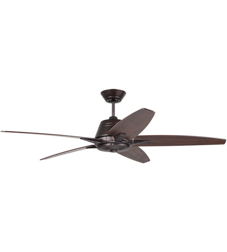 Emerson CF500TORB Euclid 56 inch Oil Rubbed Bronze with Tigerwood/Coffee Blades Indoor Ceiling Fan photo