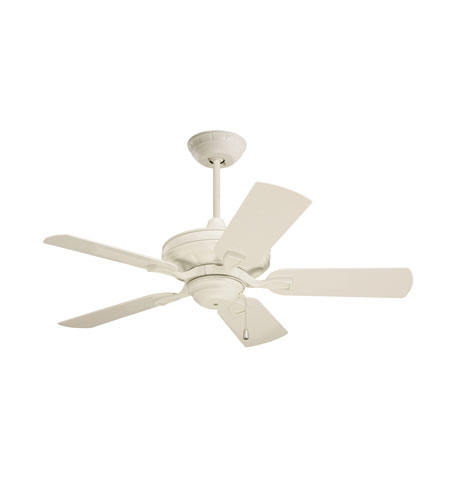 Emerson Fans 42in Carrera Veranda Ceiling Fan in Summer White with Summer White Blades CF542AW photo