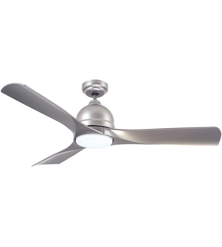 Emerson CF590PT Volta 54 inch Platinum Indoor-Outdoor Ceiling Fan