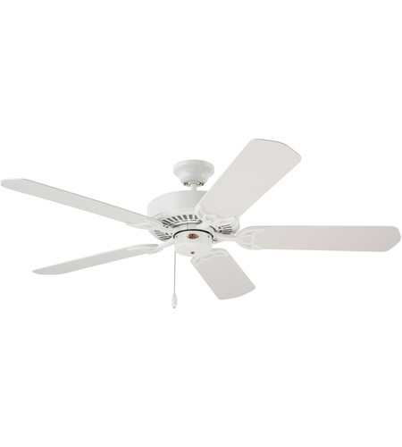 Emerson CF652WW Summer Night 52 inch Appliance White with All Weather Appl White Blades Indoor-Outdoor Ceiling Fan photo