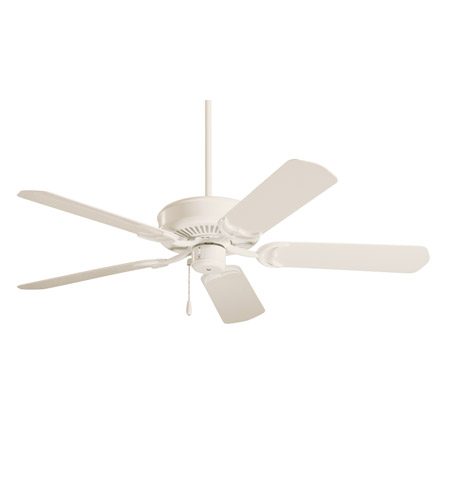 Emerson Fans Sea Breeze Ceiling Fan in Summer White with All-Weather Summer Wht Blades CF654AW photo