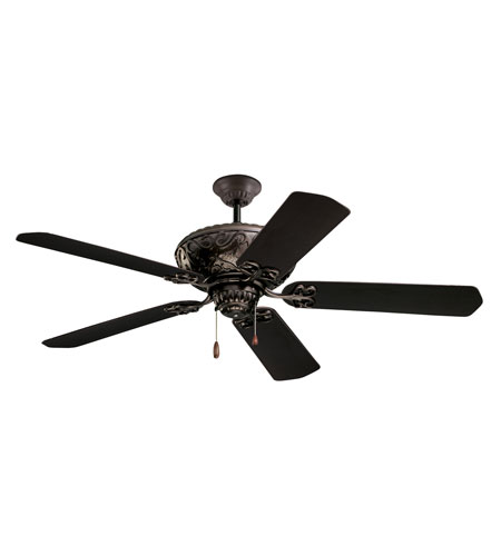 Emerson CF670ORB Devonshire 52 inch Oil Rubbed Bronze with All Weather Oil Rubbed Bronze Blades Indoor-Outdoor Ceiling Fan photo