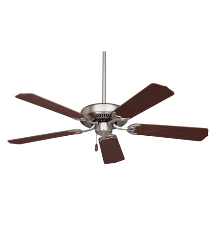 Emerson cf700bs builder 52 inch brushed steel with dark cherry emerson cf700bs builder 52 inch brushed steel with dark cherrymahogany blades ceiling fan aloadofball Image collections
