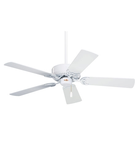 Emerson Fans 42in Northwind Ceiling Fan in Appliance White with Appliance White/Bleached Oak Blades CF704WW photo
