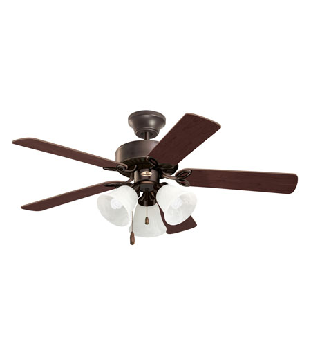 Emerson CF710ORB Pro Series II Oil Rubbed Bronze Dark Cherry/Medium Oak Ceiling Fan photo
