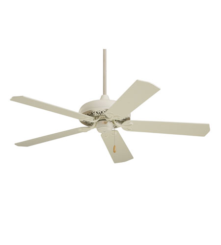 Emerson Fans Savannah Ceiling Fan in Summer White with Summer White/Bleached Oak Blades CF716AW photo