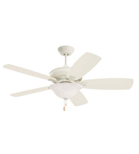 Emerson Clouded Swirl Light Fixture Fan Light Kit in Summer White LK73AW photo
