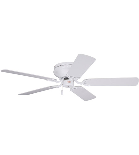 Emerson CF804SWW Snugger 42 inch Appliance White with Appl. White/Bleached Oak Blades Ceiling Fan in Appliance White/Bleached Oak photo