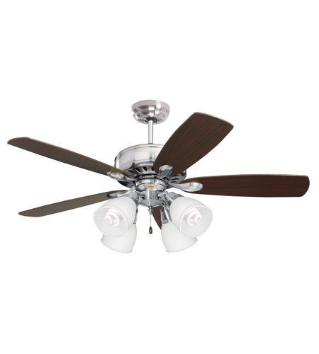 Emerson Contemporary Fitter 4 Light Fan Accessory in Brushed Steel CFFC4BS photo