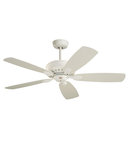 Emerson Prima Ceiling Fan in Chalk with Chalk/Maple Blades CF900CK photo