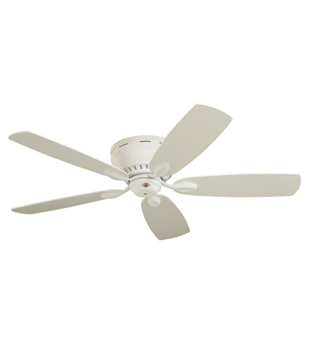 Emerson Fans 52in Prima Snugger Ceiling Fan in Chalk with Chalk/Maple Blades CF905CK photo