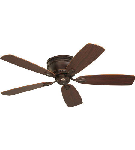 Emerson Fans 52in Prima Snugger Ceiling Fan in Venetian Bronze with Dark Cherry/Walnut Blades CF905VNB photo